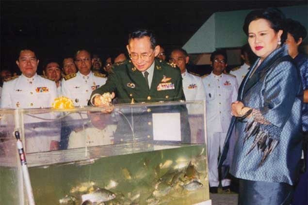 Fisheries Department's Tribute Exhibition to Our King's Dedication and Benevolen